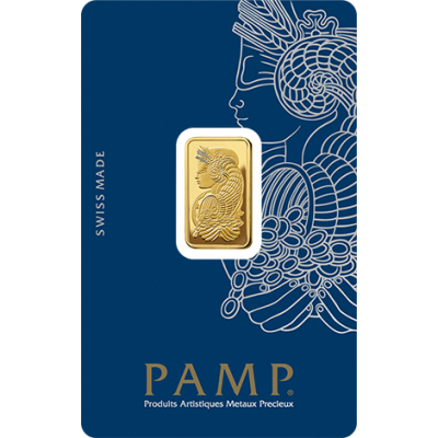 5g Goldbarren | PAMP Fortuna