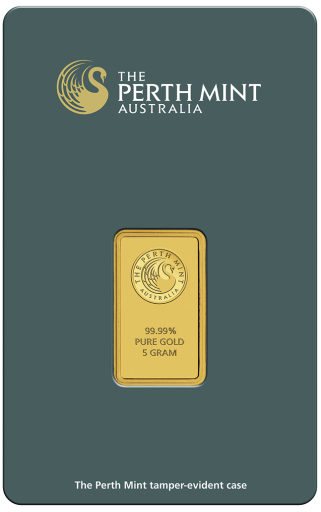 5g Lingot d'Or | Perth Mint | avec Certificat