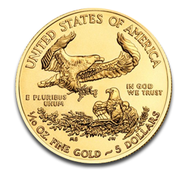 1/10 oz American Eagle | Gold | 2012