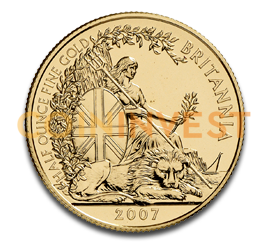 1/2 oz Britannia Gold Coin (mixed years)