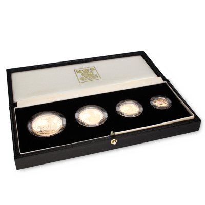 Britannia Proof Set | Gold | 1987