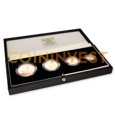 Britannia Proof Set Gold Coins (1987)