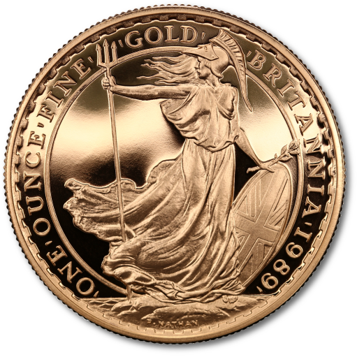 Britannia Proof Set Gold (1989)