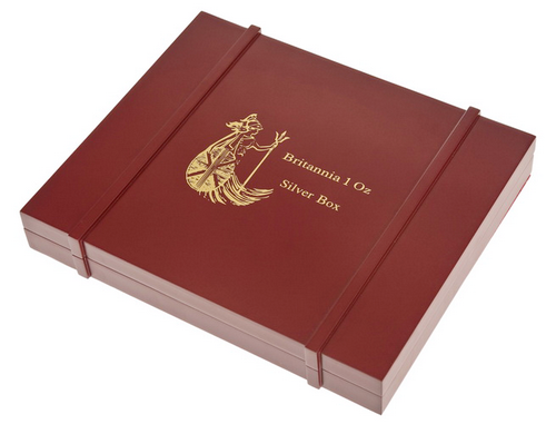 Britannia Silver Coins Box for 20 x 1oz