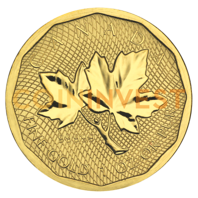 Canada 1 oz Gold Maple Leaf .99999 Coin