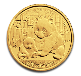 1/10 oz Panda China | Oro | 2012