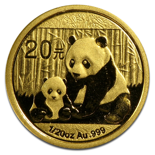 1/20 oz China Panda | Gold | mixed years