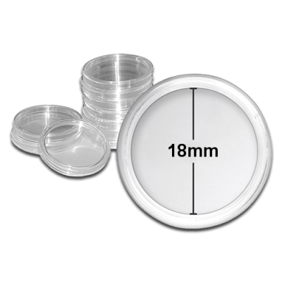 Coin Capsule - Inner Diameter 18mm