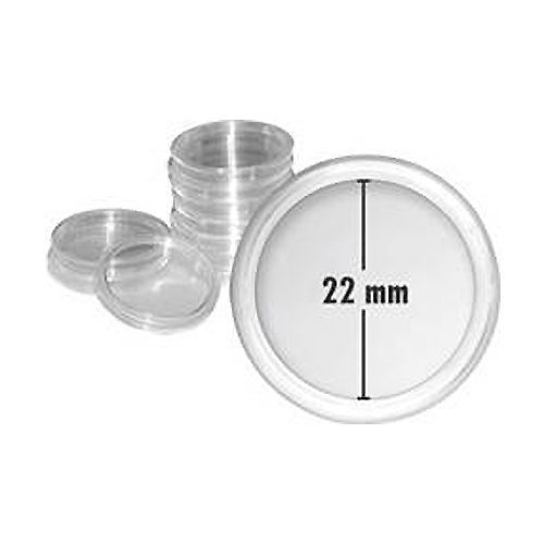 Coin Capsule - Inner Diameter 22mm