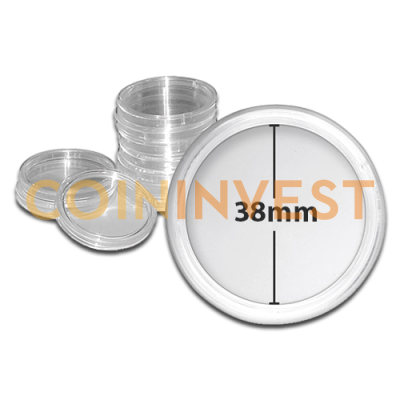 Coin Capsule - Inner Diameter 38mm
