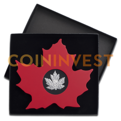 1 oz Cut-out Maple Leaf | Silber | 2015