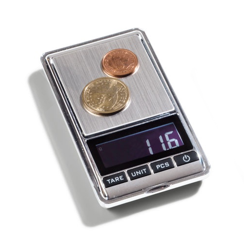 Digital Moneda Escala LIBRA Mini | 0,01-100g