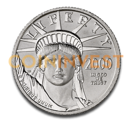 1/4 oz American Eagle | Platinum | mixed years