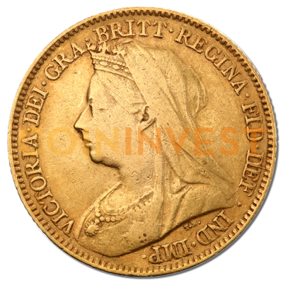Queen Victoria Half Sovereign Gold Coin | Mixed Years