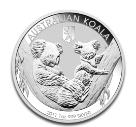 1 oz Koala Privy Mark Orso di Berlino | Argento | 2011