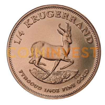 1/4 oz Krugerrand Gold Coin (mixed years)