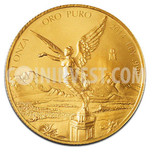 1 oz Mexican Libertad | Gold | 2014