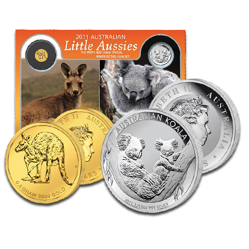 Little Aussies ANA Coin Show Special | Gold and Silver | 2011