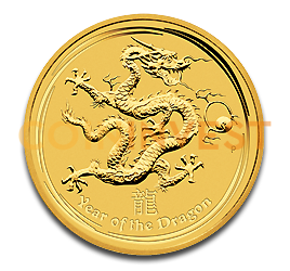 1/4 oz Lunar Dragon | Gold | 2012