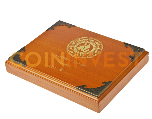 Lunar II - Silver Coins Box for 12 x 1oz