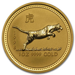 Lunar Series I Gold Coins
