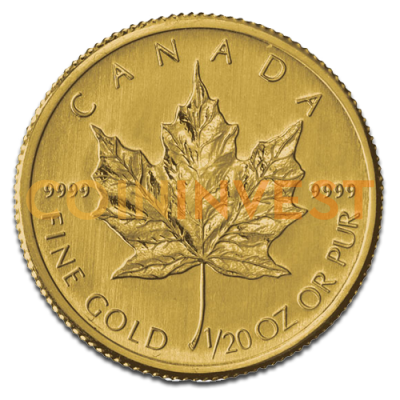 1/20 oz Maple Leaf | Gold | 2012