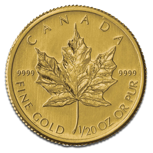 1/20 oz Maple Leaf | Or | 2012