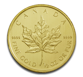 1/2 oz Maple Leaf | Or | 2011