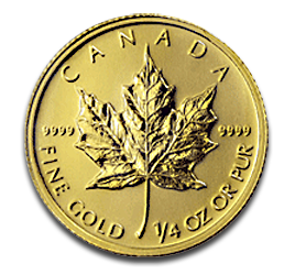 1/4 oz Maple Leaf | Gold | 2012