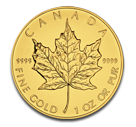 1 oz Maple Leaf | Gold | 2012