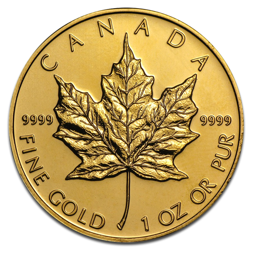 1 oz Maple Leaf | Oro | anni diversi