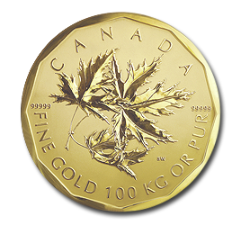 100 Kilo Maple Leaf | Gold | 2007