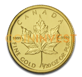 1/20 oz Maple Leaf | Oro | 2011