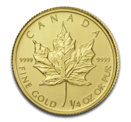 1/4 oz Maple Leaf | Gold | 2011