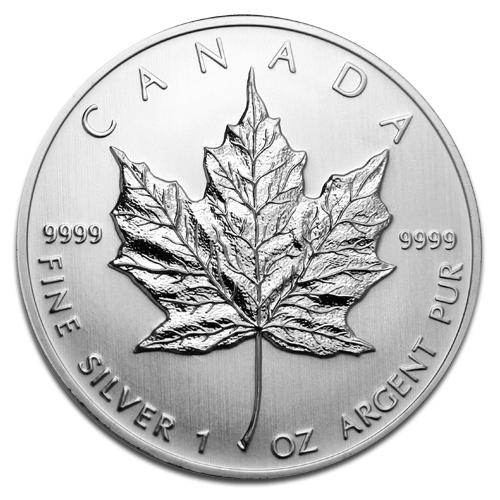 1 oz Maple Leaf | Silver | 2nd Choice | mixed years