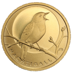 Native Birds of Germany Gold Coins