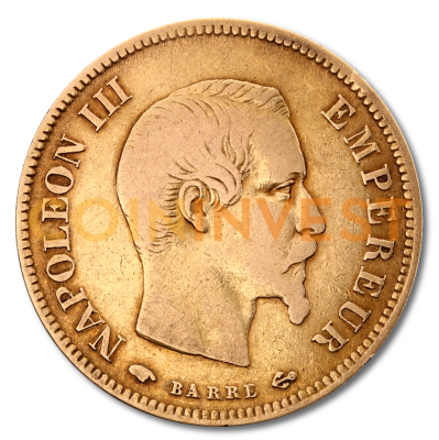 10 French Francs Napoleon III | Gold | 1854-1860