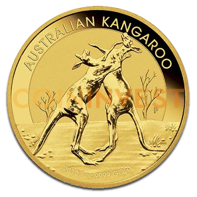 1 oz Nugget Kangaroo Gold Coin (mixed years)