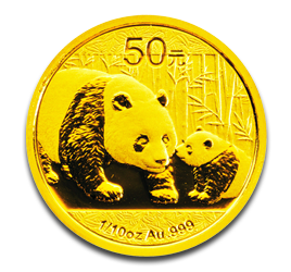 1/10 oz China Panda | Gold | 2011