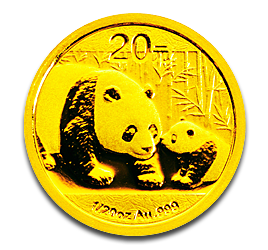 1/20 oz China Panda | Gold | 2011