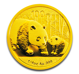 1/4 oz China Panda | Gold | 2011