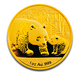 1 oz China Panda | Gold | 2011