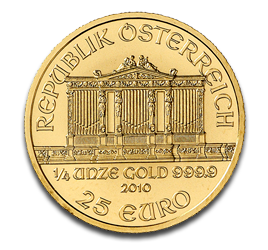 1/4 oz Vienna Philharmonic | Gold | 2010