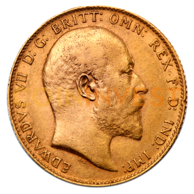 Edward VII 2nd Choice Gold Sovereign (1902-1910)