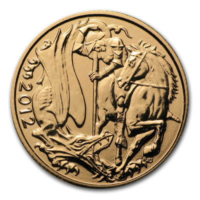 Sovereign Elisabeth II. Goldmünze (2012)