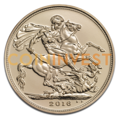 Sovereign Elizabeth II Gold | 2016