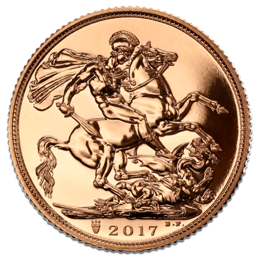Sovereign Elisabeth II | Gold | 2017
