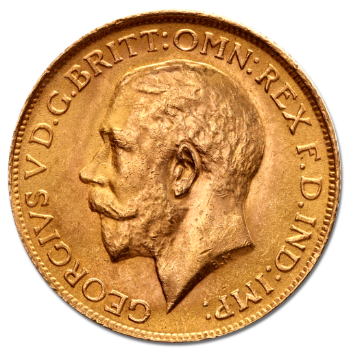Sovereign George V Gold 2nd choice | 1911-1932