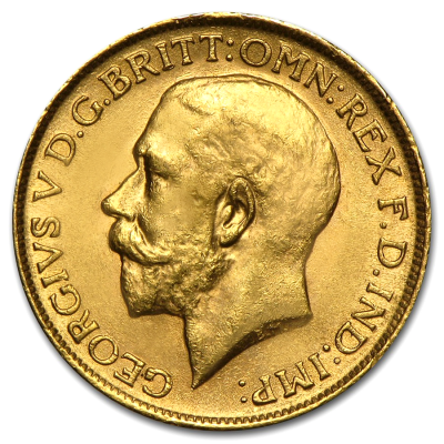 Sovereign Royal Canadian Mint | Gold | 1908-1919