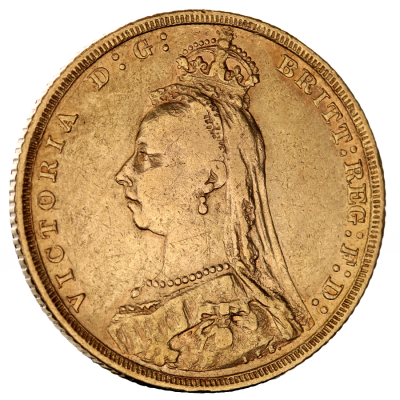 Queen Victoria Jubilee Gold Sovereign (1887-1893)